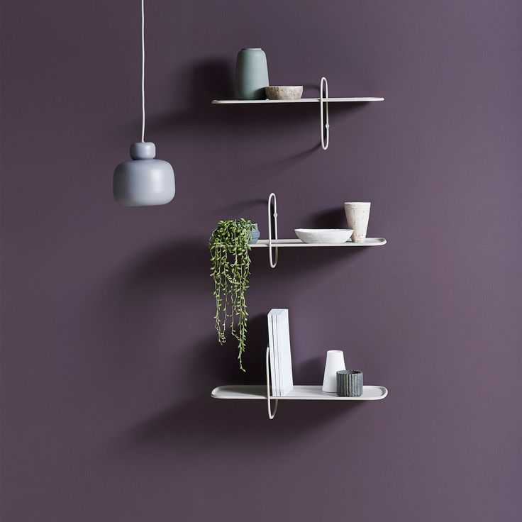 POLAR Is A Reversible Wall Shelf With A Modern And Minimalist Design.