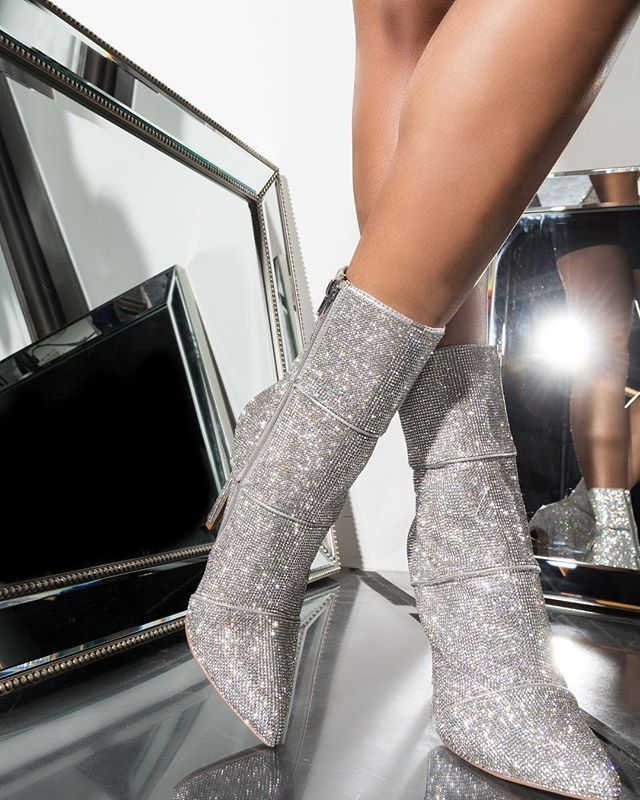 59f17386b27 OBSESSED with the Steve Madden sparkle booties. STYLE  WINONA  shopAKIRA
