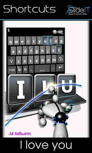 SlideIT Keyboard v5.1 Android