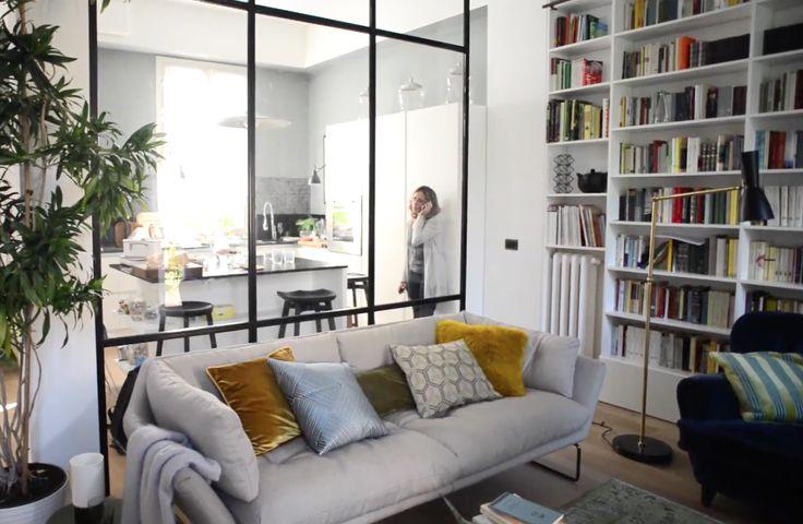 CASAfacile - Dividere soggiorno e cucina con una vetrata