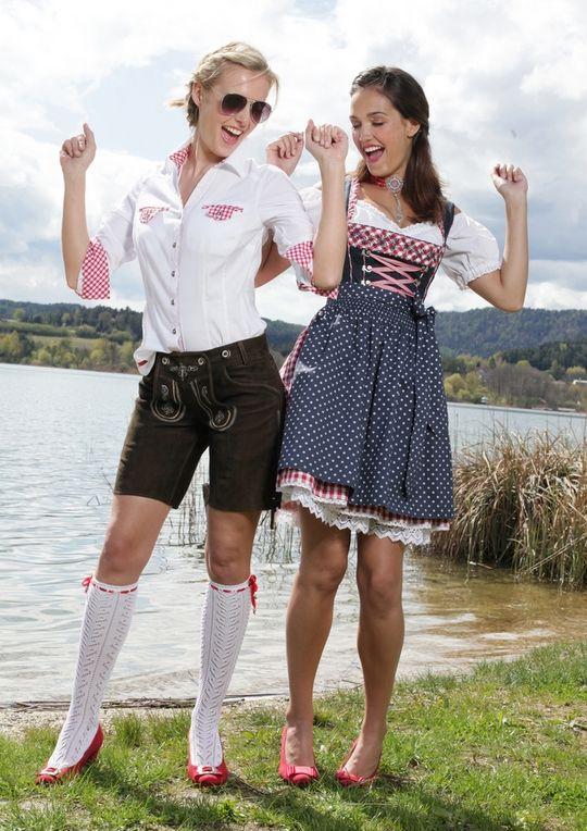 Lederhose Damen #Wiesn #Oktoberfest #Trachtenmode | HeidisTrachten.de