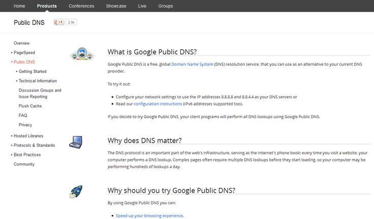 #Top #Free #Public #DNS #Servers
