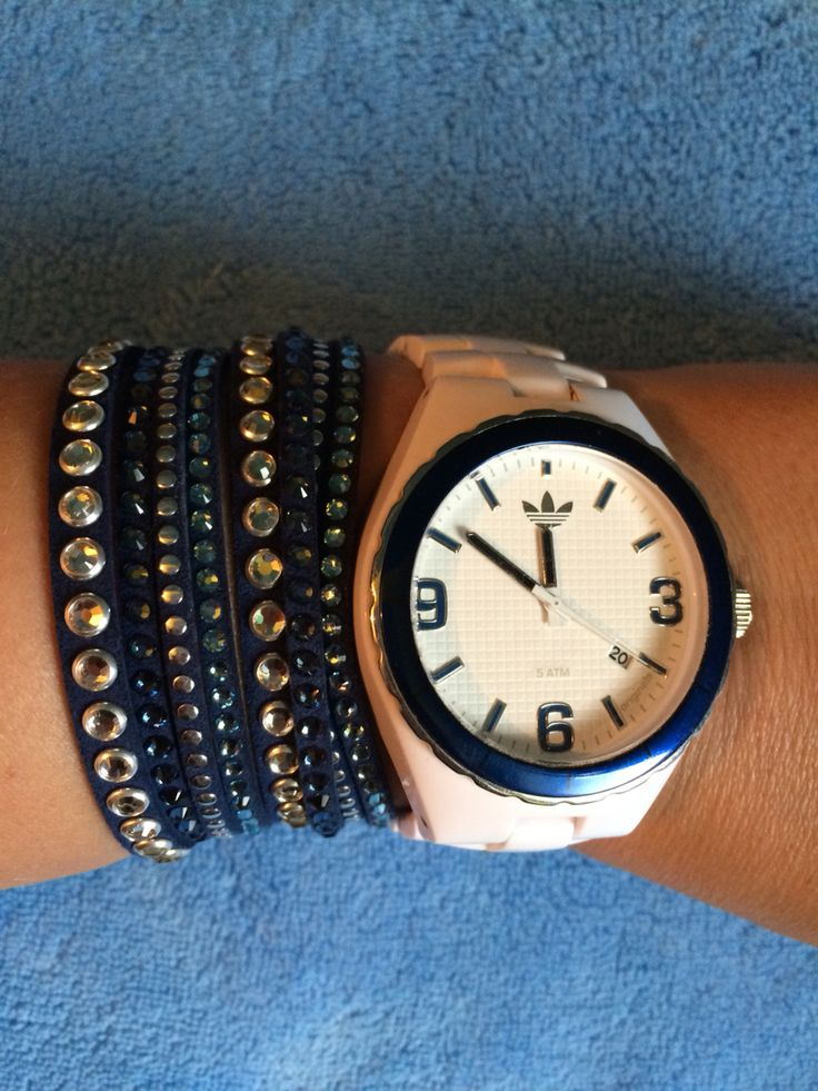 Swarovski Slake Bracelet & Adidas watch