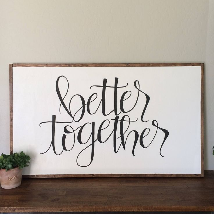 better together by inourlittleredhouse on Etsy https://www.etsy.com/listing/510567540/better-together