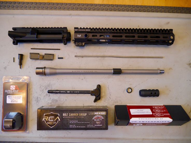 See how easy it is to build your own AR-15 upper receiver. Step-by-step with pictures, plus essential tools, recommended parts, tips/tricks, and two builds.