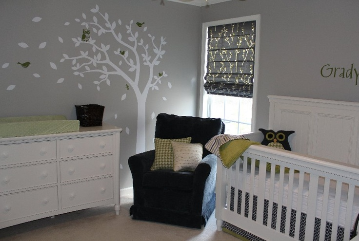 Baby Boy Rooms Grey And White