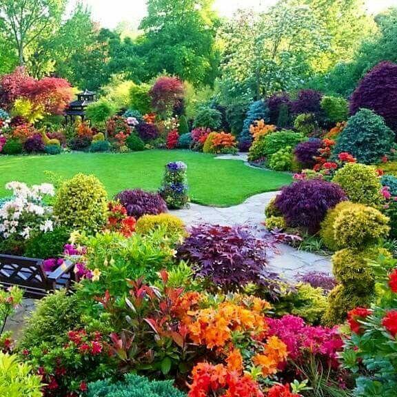 Secret Garden: 64 Best Fall Garden Images On Pinterest