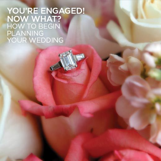 How to begin planning a wedding