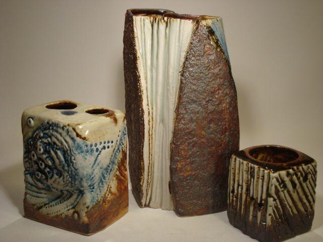 """Nature vases"" from 1983 by Carl-Harry Stålhane for Designhuset"