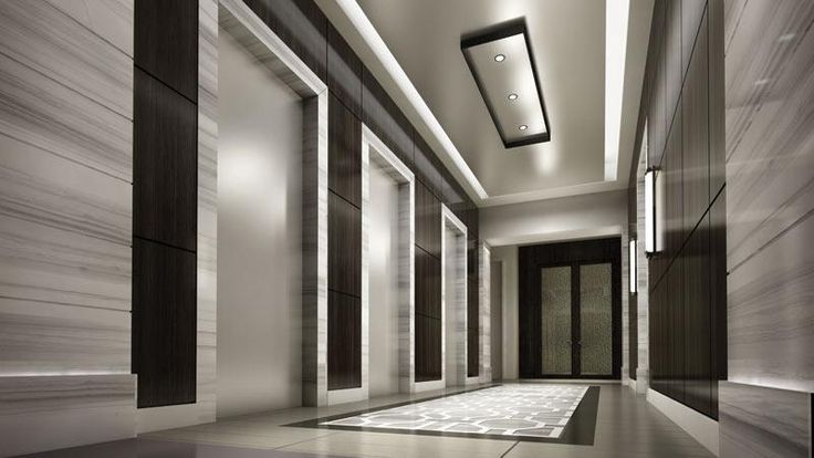 Unique ceiling ideas modern hotel room space modern for Elevator flooring options