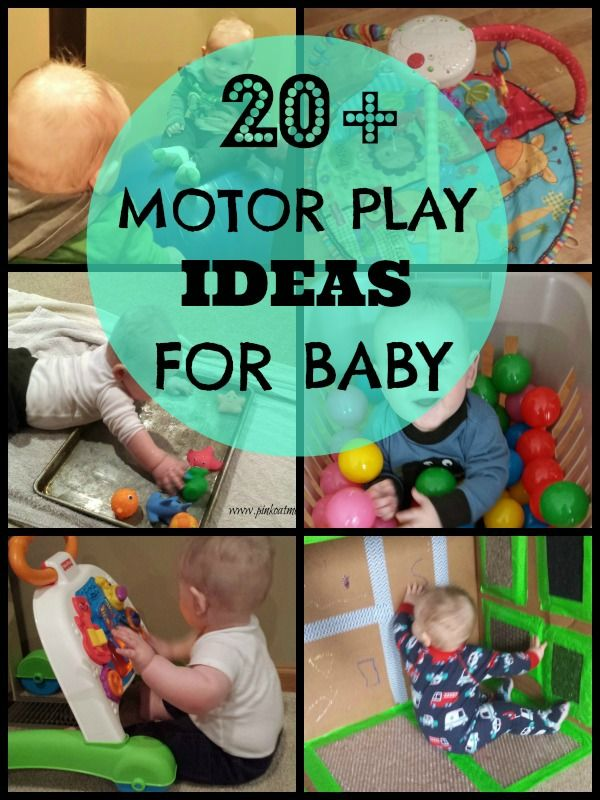 Motor Play Ideas For Baby