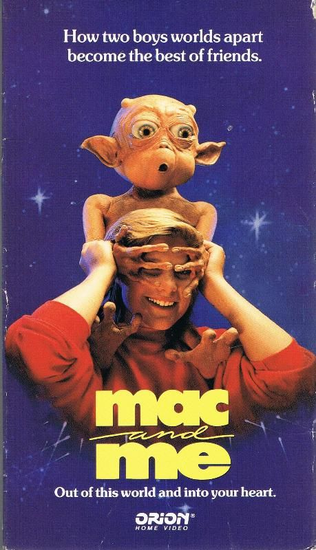 """Mac and Me. Mac was so cute:). I called them the """"oot-wees"""" because of the whistle thing the alien family did."""