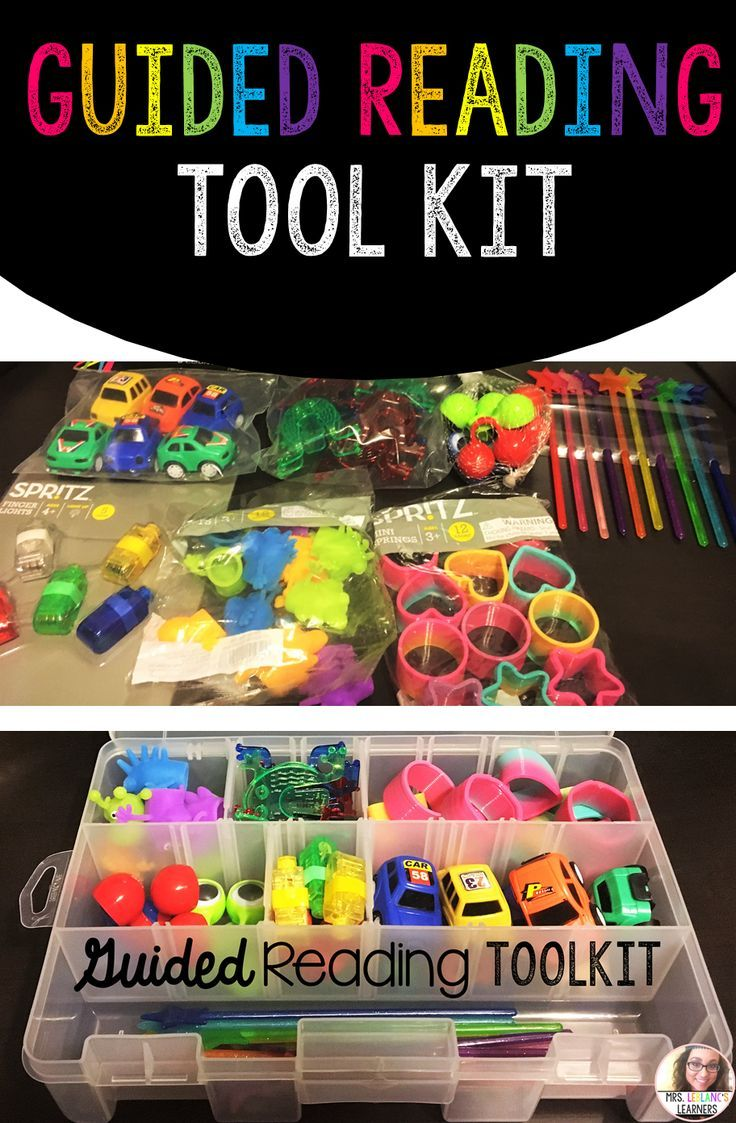 Perfect way to organize your guided reading tools. ♥