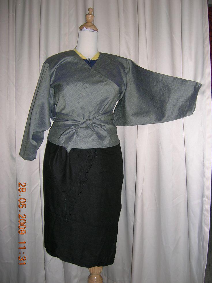 Kimono top (grey)