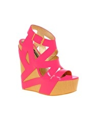 A wedge is one of the hottest trend for the season, get your pedicures ladies!