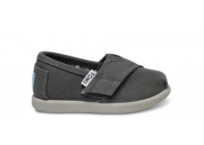 Tiny TOMS - Ash Canvas Tiny Toms | TOMS.com - StyleSays