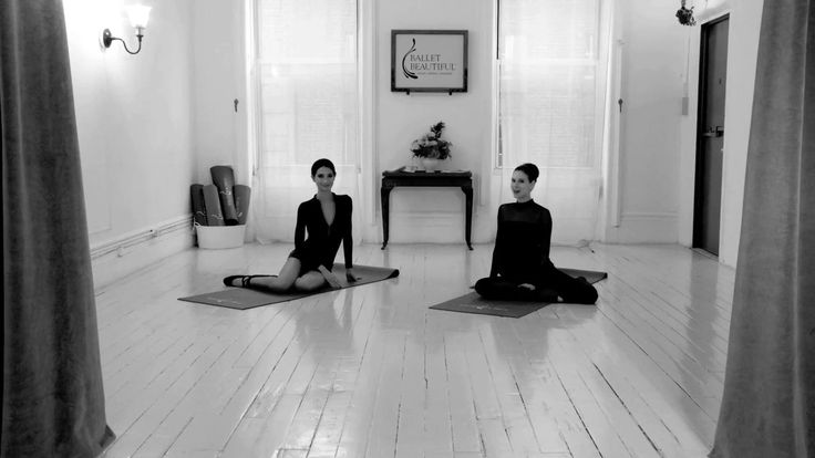 Ballet Beautiful with Mary Helen Bowers and Lily Aldridge (In this video they demonstrate how to do lower and upper ab work during and after pregnancy)