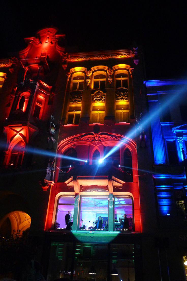 Lodz, Poland, Light.Move.Festival. Łódź 2014: