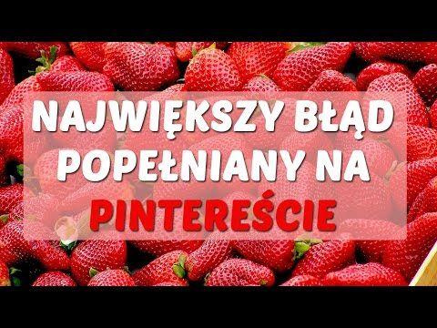 Największy błąd popełniany w Pintereście | Iwona Eriksson
