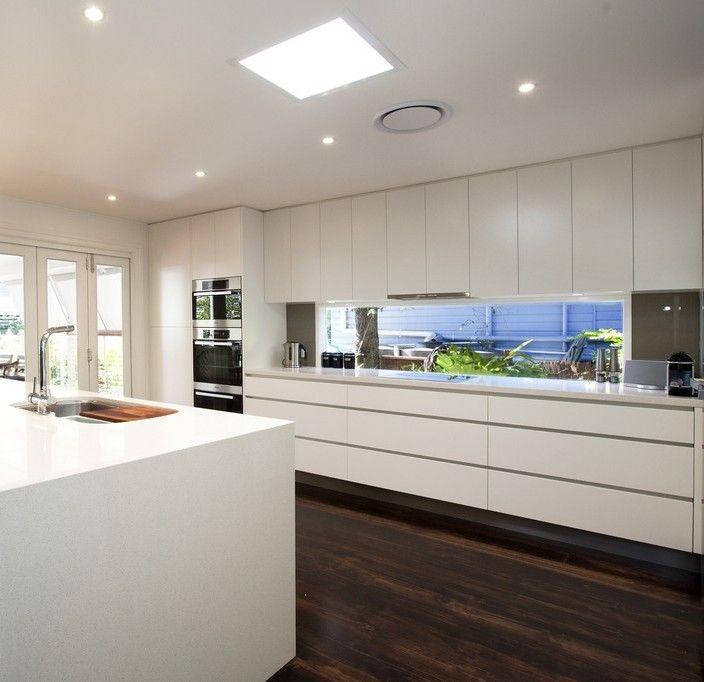 Kitchen No Cabinets: No Handle Kitchen