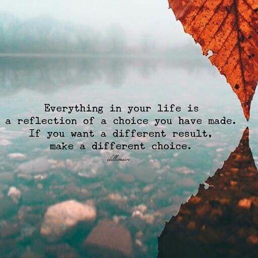 Everything in your life is a reflection of a choice you have made. If you want a different result, make a different choice. May this board give you the courage and inspiration to make a difference in your marriage.