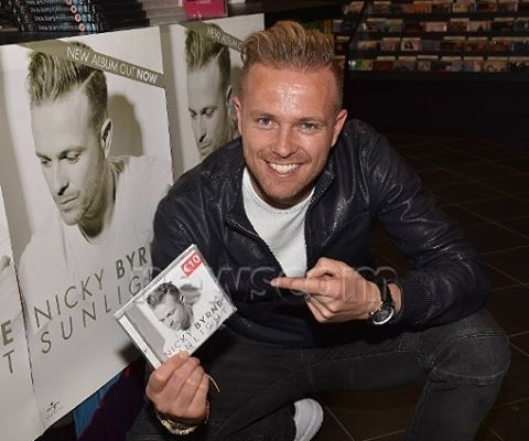 Have a physical copy of @nickybyrne2016's debut album #Sunlight? In stores now! Or order online: http://amzn.to/216o4Q0  #nickybyrne #debutalbum #album #get #buy #stores #music #buy #eurovision #uk #ireland #amazon #online #westlife