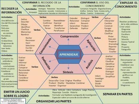Taxonomía de Bloom - Esquema párrafo Redactar Competencias | Infografía | EDUCACIÓN Y PEDAGOGÍA | Scoop.it