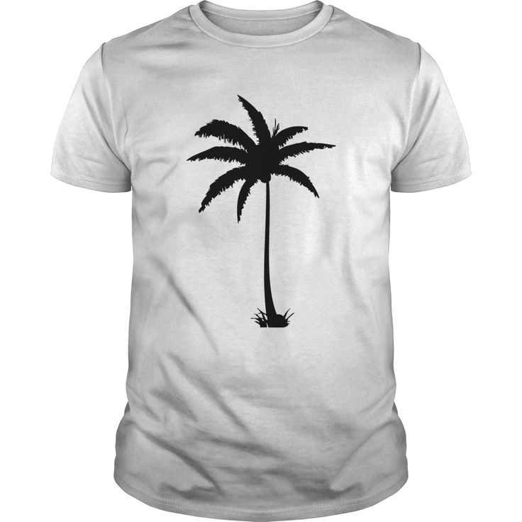 Date palm tree in line art T-Shirts, Hoodies. CHECK PRICE ==► https://www.sunfrog.com/Outdoor/Date-palm-tree-in-line-art-White-Guys.html?id=41382