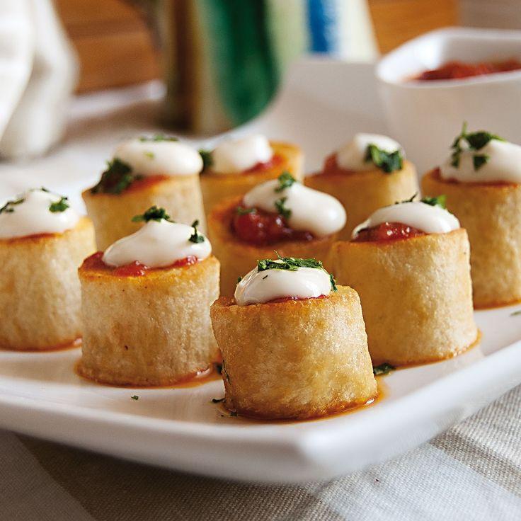 Patatas bravas, Patatas a la brava