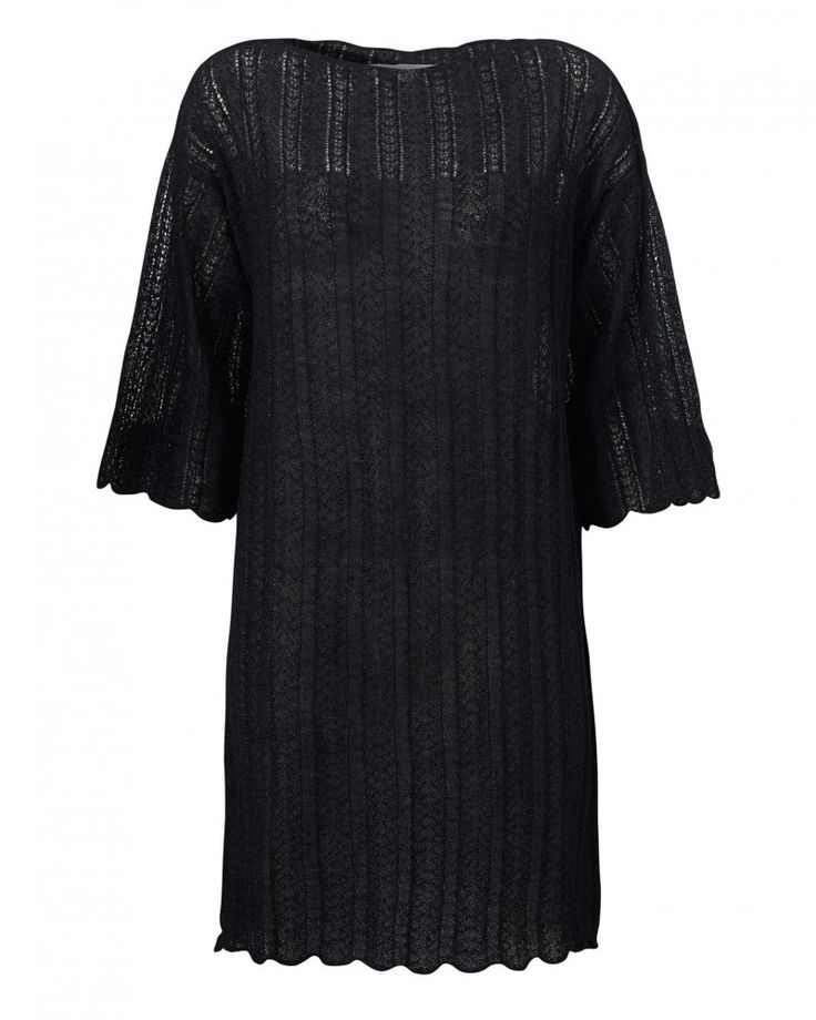 Aiayu Hilma dress Llama wool and silk.