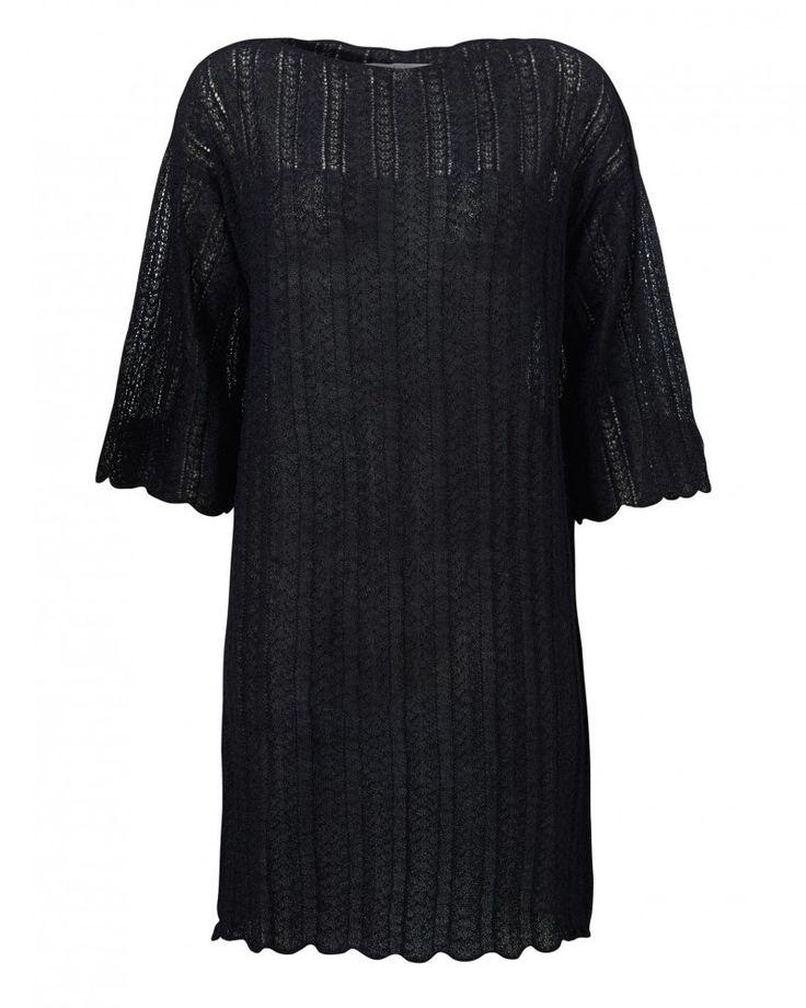Aiayu Hilma dress Llama wool and silk.