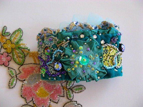 544 best DIY Fabric Jewelry images on Pinterest Charm bracelets