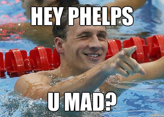u mad bro?: Eye Candy, Michael Phelps, Ryan Lochte3, Giggles, Hey Girls, Funny Stuff, Girls Memes, Swimmers Things, Ryanlocht