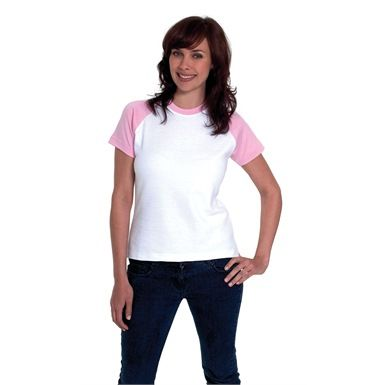 Uneek UC310 Ladies Raglan T-Shirt is a versatile womens top. It's a classic design with a twist giving your wardrobe a whole new lease of life, and is an d ideal garment for personalisation via our embroidery and print service.