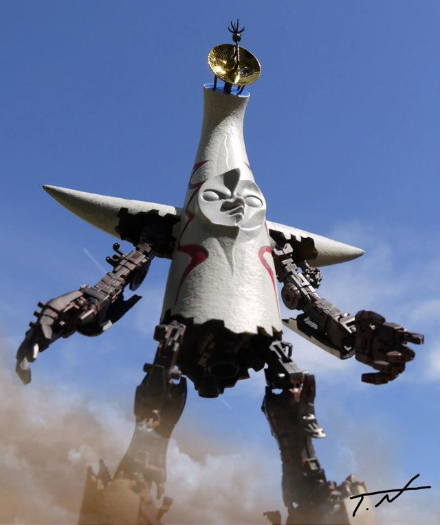 The Tower of the Sun robot by Tsuyoshi NONAKA, Japan