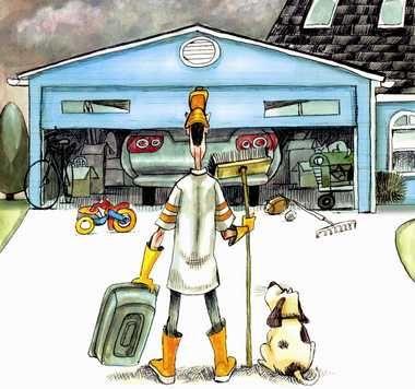 #städtips på hur du kan #organisera samt #rengöra #garaget  http://xn--flyttstdning08-cib.se/reng%C3%B6ra-garage/