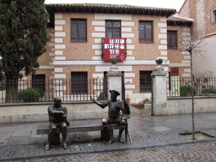 Miguel de Cervantes: Museo Casa Natal de Cervantes,Alcala de Henares