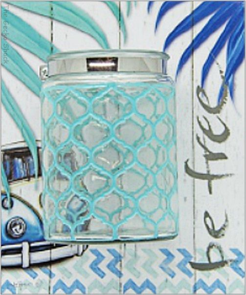 The Gecko Shack - Kombi Revival BE FREE Bliss Jar Candle and Accessories Holder, $16.95 (http://www.geckoshack.com.au/kombi-revival-be-free-bliss-jar-candle-and-accessories-holder/)