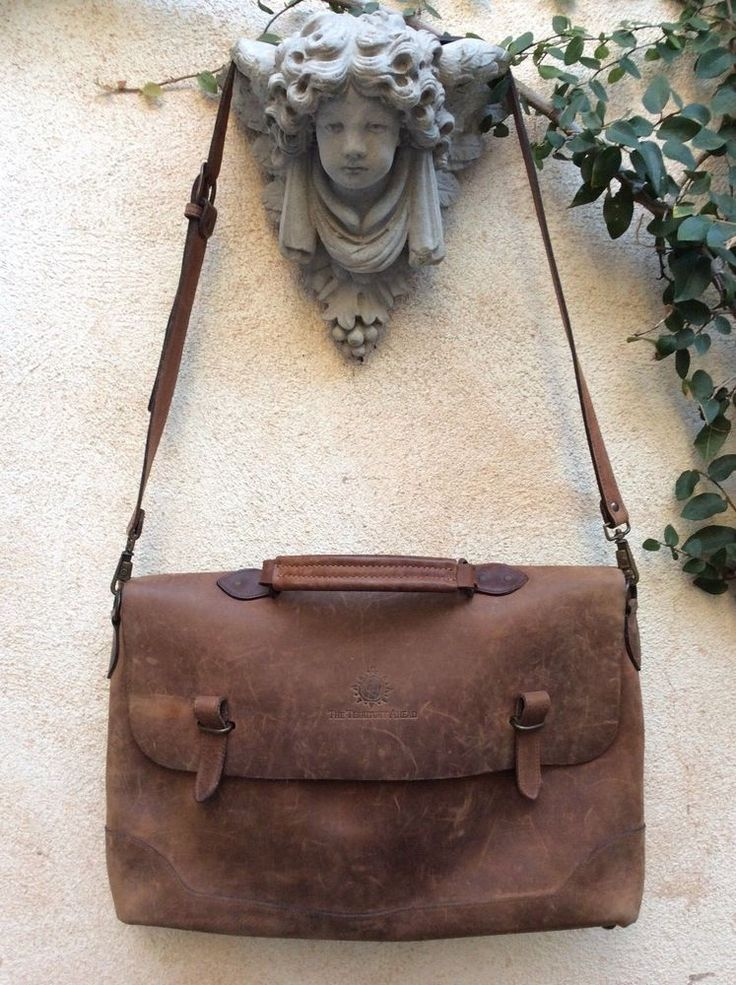 The Territory Ahead Indiana Jones Style Distressed Leather Laptop Messenger Bag #TheTerritoryAhead #LaptopBagBriefcaseMessengerBag