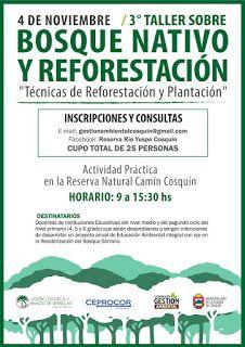 Así Somos: 3er Taller de Bosque Nativo y Reforestacion