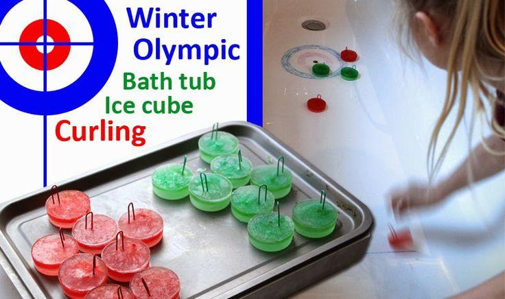 Bathtub Ice Cube Curling