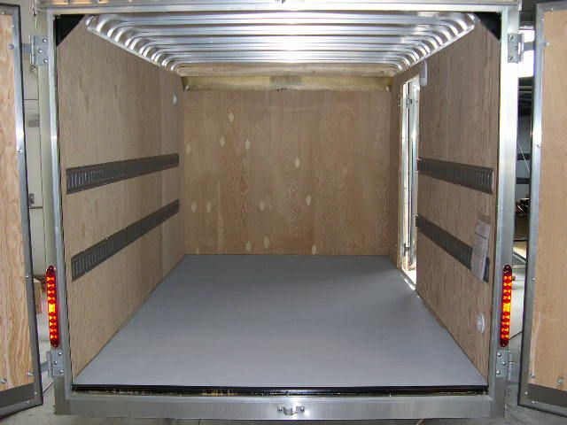 E Track System On Trailer Walls Trailer Accessories