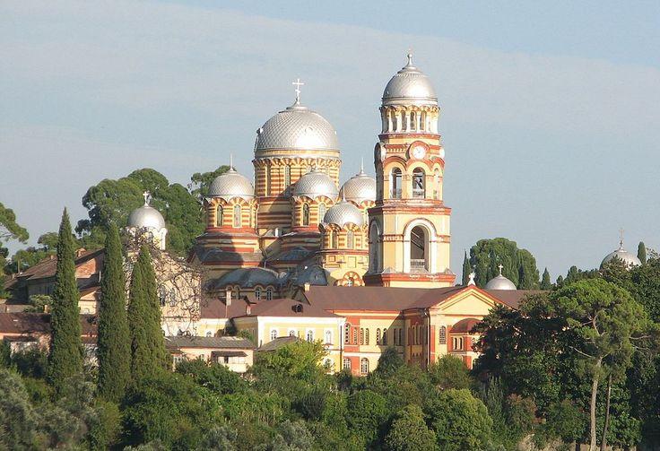 New Athos (Novyy Afon) orthodox monastery ◆Abkhazia - Wikipedia http://en.wikipedia.org/wiki/Abkhazia #Abkhazia