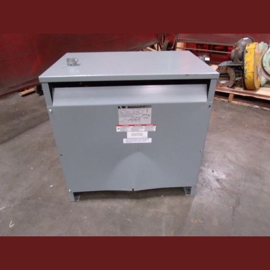 Cat: 75TQ26740. High Volt: 600V. Low Volt: 420Y/242V. H.V. Amps: 72.1. L.V. Amps: 103. Weight: 550 lbs.  Phase: 3.  View more 75 kVA Transformers