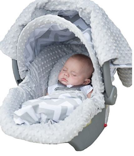 Car Safety Seats 66692: Carseat Canopy 5 Pc Whole Caboodle Baby Infant Car Seat Cover Kit With Minky ... -> BUY IT NOW ONLY: $56.99 on eBay!