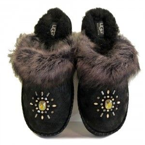 Aira Crystals slippers #UGGAustralia #UGG #Slippers #designer #sale #bargain #discount #womensslippers #shoes #fashion #warm