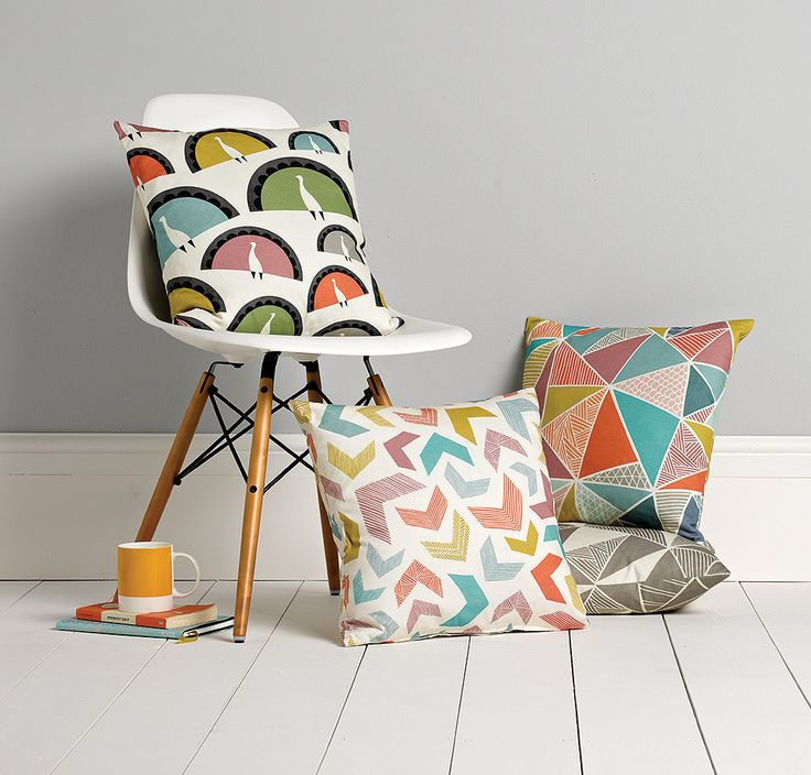 Chevrons Cushion – For Keeps