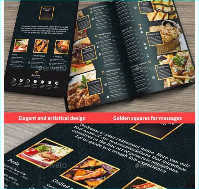 Best  Tasteful  Beautifully Designed Restaurant Menu