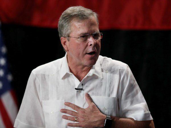 Everyone on Twitter made the same juvenile joke about Jeb Bush's 2016 ... Jeb Bush  #JebBush