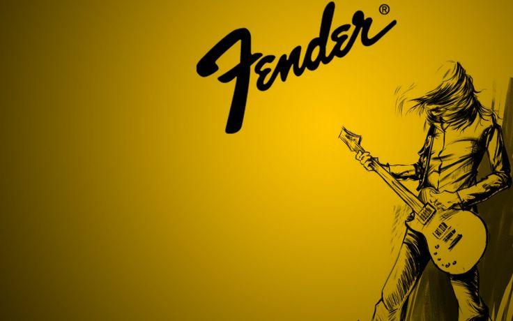 Fender Guitar Yellow Wallpapers For Desktop HD Wallpapers in Music